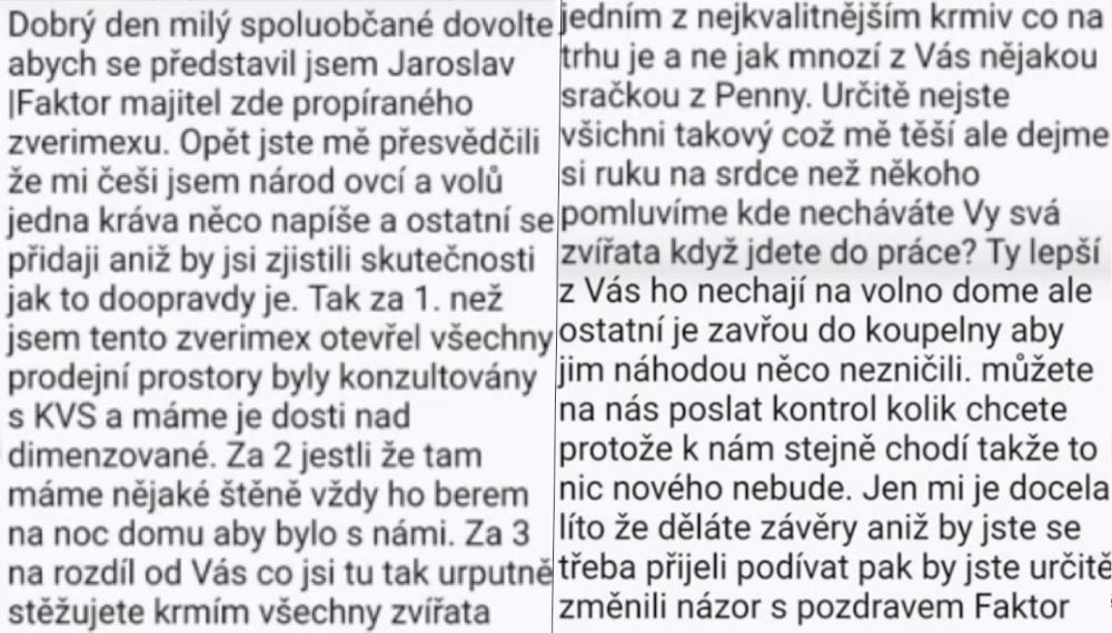 týraní psů v české republice ve zverimexech zoo faktor shop čivava4