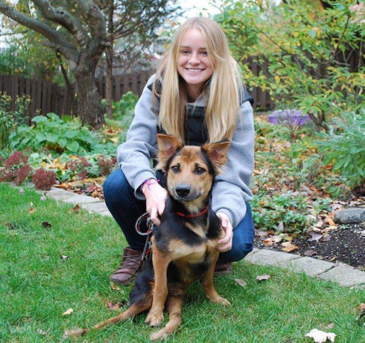 ochrnutý pes nemůže na zadní nohy zlomená páteř příbeh psa 10a