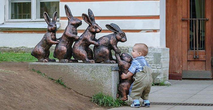 správná výchova dítěte chování ke psovi psí rodič 6