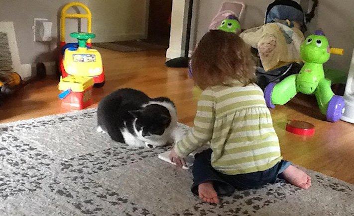 správná výchova dítěte chování ke psovi psí rodič 7