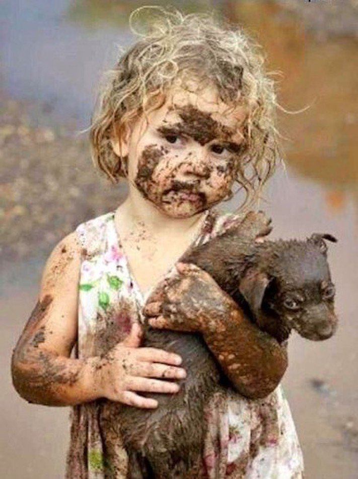 dítě a pes soužití chování empatie respeck výchova obrázky 13