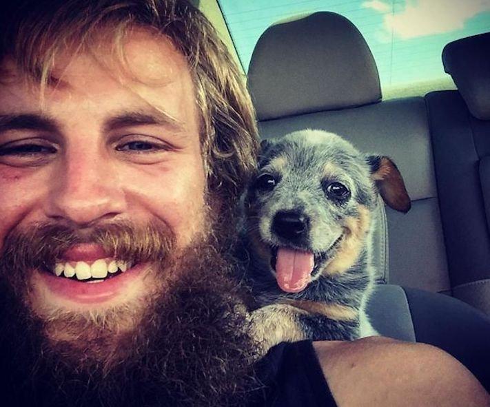 první obrázky se psem, první, obrázek, se psem, první den se psem, pes z útulku, fotoalbum, fotografie, obrázky, psí příběhy 1