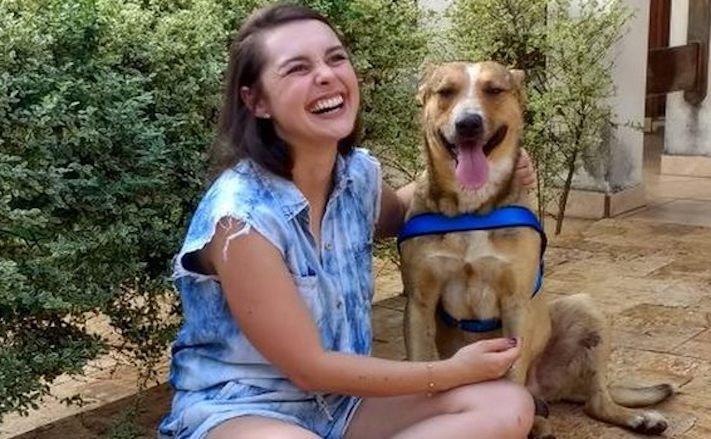 pouliční pes, z ulice, adopce, pomoc, při svatbě, svatba, svatební den, se psem, psi, psy, pes, na svatbě, svatební obřad, fotografie, obrázky, psí příběh 10