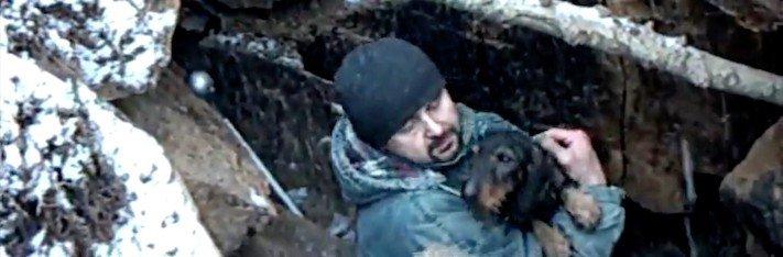 záchrana, jezevčíka, kamenolomu, záchranná akce, hasiči, vytahují, psa, hárající, fenka, jak vylákat psa, video, obrázky, jezevčík Milda 5