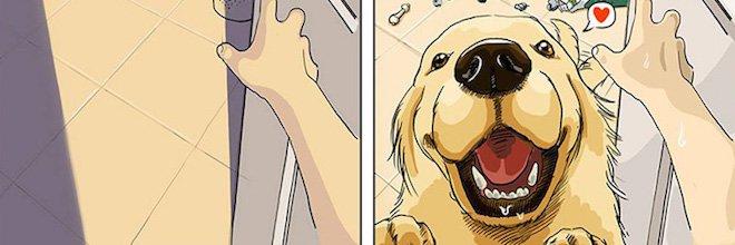PŘED A POTÉ: Život se psem