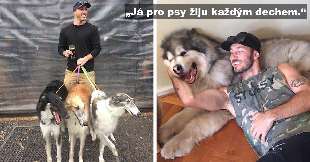 """""""Mým snem je zachránit všechny psy na světě."""""""