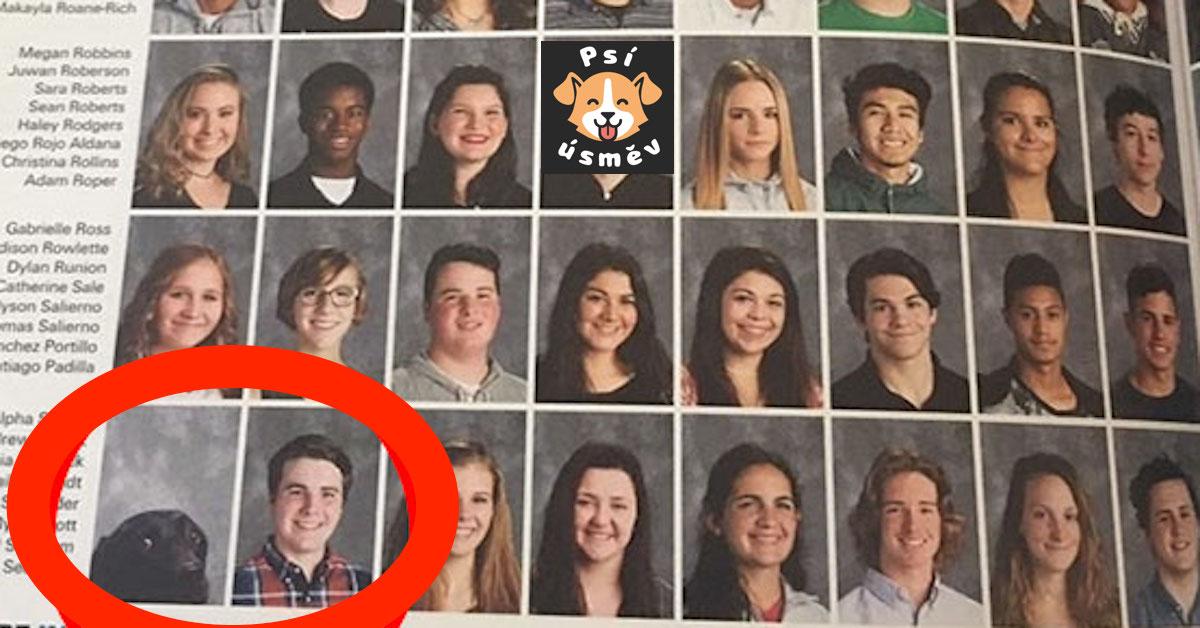 Ve školní ročence se objevil pes a nejedná se o chybu