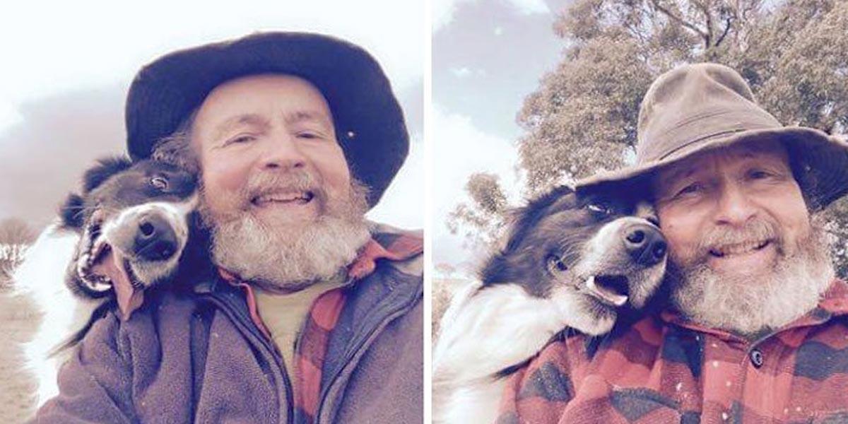 Vnučka učila svého dědu, jak udělat selfie. To ale netušila, že se z něj stane internetový král