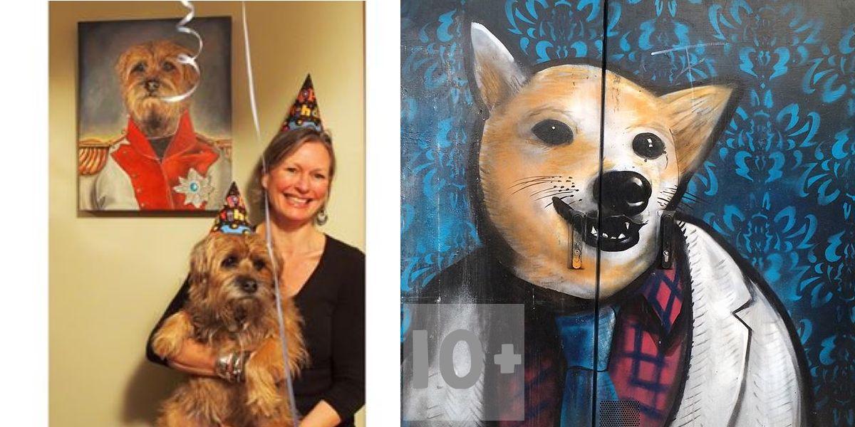 10+ psích obrazů, které nás pobavily