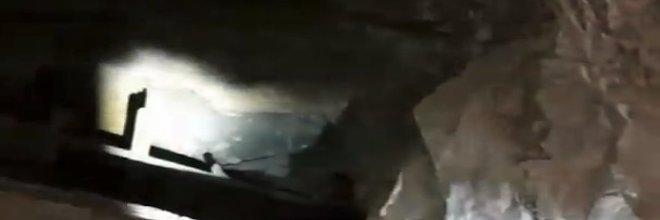 Horolezci objevili uvězněného psa ve štole